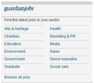 guardian jobs