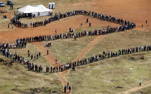 APTOPIX South Africa Elections