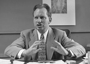 L Ron Hubbard in 1950