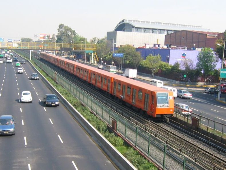 The Mexico City Metro is the second biggest in the Americas after New York's subway system