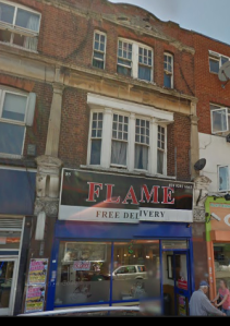 "The top floor flat above ""Flame"" kebab shop was my home for three years"
