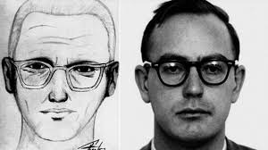 The police sketch of the Zodiac Killer and Earl Van Best