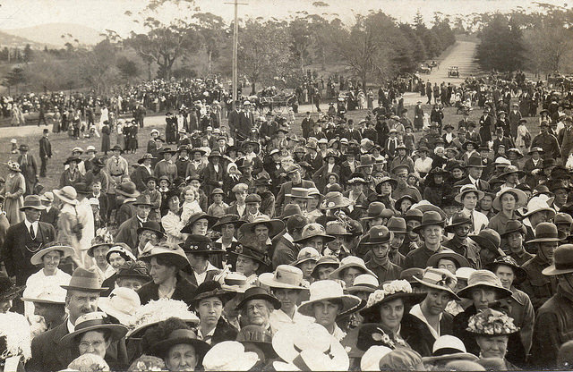 First Anzac Day, Hobart Domain, Tasmania - 1916