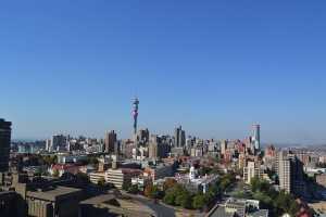 The Johannesburg CBD skyline
