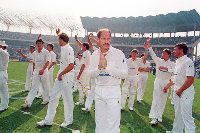 Captaining South Africa against India in 1991